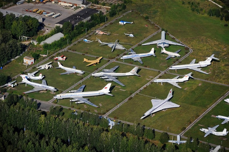 Museum of Civil Aviation , Ulyanovsk, Russia