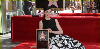 Julianna Margulies honored with a star on the Hollywood Walk of Fame