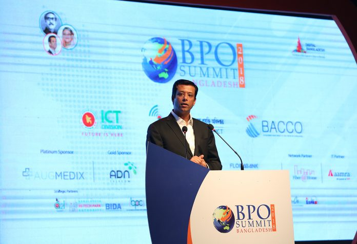 BPO Summit Sajeeb Wazed