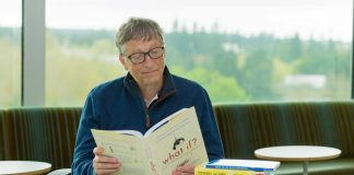 bill gates reading