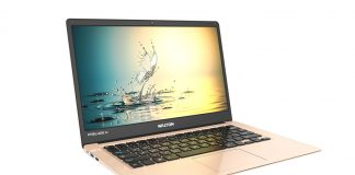 Walton Made in Bangladesh Laptop-Golden