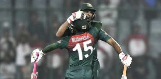 Bangladesh win against India